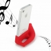 iPhone 4 4s Acoustic Amplifier (Red Horn) protective carrying case by PDair