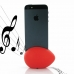 iPhone 5 5s Acoustic Amplifier (Red Ellipse) protective carrying case by PDair