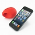 iPhone 5 5s Acoustic Amplifier (Red Ellipse) offers worldwide free shipping by PDair