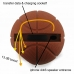 iPhone 4 4s Acoustic Amplifier (Brown Basketball) handmade leather case by PDair