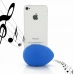 iPhone 4 4s Acoustic Amplifier (Blue Ellipse) protective carrying case by PDair