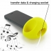 iPhone 5 5s Acoustic Amplifier (Yellow Ellipse) protective carrying case by PDair