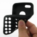 iPhone 5c Soft Case (Black Perforated Pattern) top quality leather case by PDair