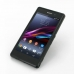 Sony Xperia Z1 Soft Case (Black S Shape pattern) top quality leather case by PDair