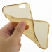iPhone 6 6s Transparent Soft Gel Case (Gold) top quality leather case by PDair