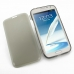 Samsung Galaxy Note 2 Soft Case (Grey) top quality leather case by PDair