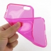 iPhone 6 6s Plus Transparent Soft Gel Case (Petal Pink) genuine leather case by PDair