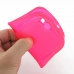 Samsung Galaxy Express Soft Case (Petal Pink S Shape pattern) genuine leather case by PDair