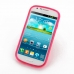 Samsung Galaxy Express Soft Case (Petal Pink S Shape pattern) top quality leather case by PDair