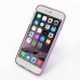 iPhone 6 6s Plus Transparent Soft Gel Case (Purple) top quality leather case by PDair