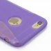 iPhone 6 6s Soft Case (Purple S Shape pattern) protective carrying case by PDair