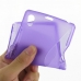 Sony Xperia Z1 Soft Case (Purple S Shape pattern) top quality leather case by PDair