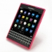 BlackBerry Passport Soft Case (Pink S Shape pattern) genuine leather case by PDair