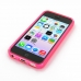 iPhone 5c Soft Case (Pink S Shape pattern) top quality leather case by PDair