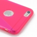 iPhone 6 6s Plus Soft Case (Pink S Shape pattern) protective carrying case by PDair