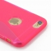 iPhone 6 6s Soft Case (Pink S Shape pattern) protective carrying case by PDair