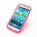 Samsung Galaxy Win Duos Soft Case (Pink S Shape pattern) top quality leather case by PDair