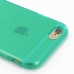 iPhone 6 6s Transparent Soft Gel Case (Aqua) protective carrying case by PDair