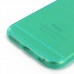 iPhone 6 6s Transparent Soft Gel Case (Aqua) handmade leather case by PDair