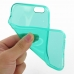 iPhone 6 6s Transparent Soft Gel Case (Aqua) top quality leather case by PDair