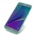 Samsung Galaxy Note 5 Transparent Soft Gel Case (Aqua) protective carrying case by PDair