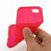 iPhone 5c Soft Case (Red S Shape pattern) genuine leather case by PDair