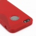 iPhone 5 5s Soft Case (Red S Shape pattern) protective carrying case by PDair