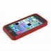 iPhone 5 5s Soft Case (Red S Shape pattern) top quality leather case by PDair