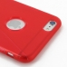iPhone 6 6s Plus Soft Case (Red S Shape pattern) protective carrying case by PDair