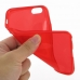 iPhone 6 6s Transparent Soft Gel Case (Red) top quality leather case by PDair