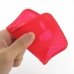 Moto G Soft Case (Red S Shape pattern) top quality leather case by PDair