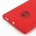 Nokia Lumia 830 Soft Case (Red S Shape pattern) protective carrying case by PDair