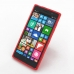 Nokia Lumia 830 Soft Case (Red S Shape pattern) top quality leather case by PDair