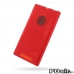 Nokia Lumia 830 Soft Case (Red S Shape pattern) custom degsined carrying case by PDair