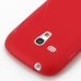 Samsung Galaxy S3 Mini Soft Case (Red S Shape pattern) protective carrying case by PDair