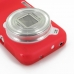 Samsung Galaxy S4 zoom Soft Case (Red) protective carrying case by PDair