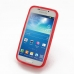 Samsung Galaxy S4 zoom Soft Case (Red) top quality leather case by PDair