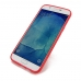 Samsung Galaxy A8 Soft Case (Red S Shape pattern) protective carrying case by PDair