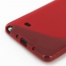 Samsung Galaxy Note 4 Soft Case (Red S Shape pattern) handmade leather case by PDair