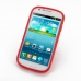 Samsung Galaxy Express Soft Case (Red S Shape pattern) top quality leather case by PDair
