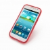 Samsung Galaxy Win Duos Soft Case (Red S Shape pattern) top quality leather case by PDair