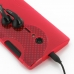 Sony Xperia Ion Soft Case (Red S Shape pattern) protective carrying case by PDair