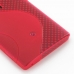 Sony Xperia Ion Soft Case (Red S Shape pattern) handmade leather case by PDair