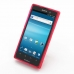 Sony Xperia Ion Soft Case (Red S Shape pattern) custom degsined carrying case by PDair