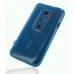 Sprint HTC EVO 3D Soft Case (Blue) handmade leather case by PDair
