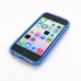 iPhone 5c Soft Case (Blue S Shape pattern) top quality leather case by PDair