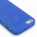 iPhone 5 5s Soft Case (Blue S Shape pattern) protective carrying case by PDair