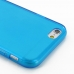 iPhone 6 6s Transparent Soft Gel Case (Blue) protective carrying case by PDair