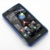 Motorola Droid Razr HD Soft Case (Blue S Shape pattern) custom degsined carrying case by PDair