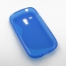 Samsung Galaxy S3 Mini Soft Case (Blue S Shape pattern) top quality leather case by PDair